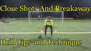 goalkeeper training close shots drills u0026 tips youtube