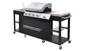 cuisiner avec barbecue a gaz barbecue à gaz ou cuisine d extérieur avec ustensiles groupon shopping