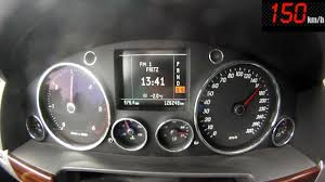 volkswagen touareg interior 2004 vw touareg v10 tdi 5 0 0 100 100 200 acceleration youtube