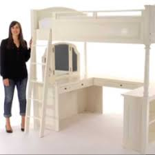 girls loft bed with a desk and vanity girls loft bed with a desk and vanity desk ideas