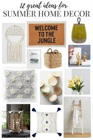 summer home decor ideas saturday shopping summer decor love u0026 renovations