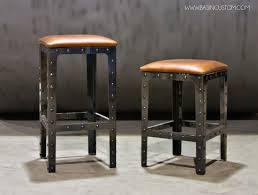 Rustic Bars Furniture Nice Rustic Bar Stools For Modern Bar Room Design Ideas