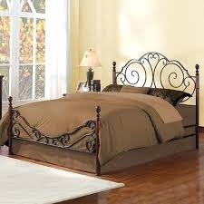 Black Metal Headboard And Footboard Metal Headboard Queen U2013 Senalka Com
