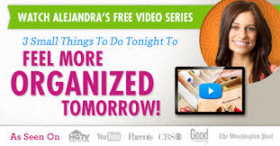 alejandra tv watch alejandra s 3 day video series to start getting organized