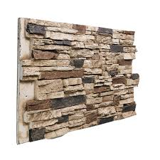 stone design faux deep stacked stone paneling
