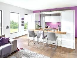 amenagement cuisine salon decoration cuisine ouverte sur sejour cuisine en image idée