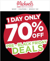 michaels black friday top 100 retailers u0027 black friday u0026 cyber monday email experience