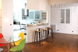 cuisine couloir cuisine ouverte sur le couloir c1349 mires