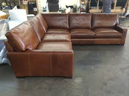 Leather Sectional Sofa Bed 15 Photo Of Vintage Leather Sectional Sofas
