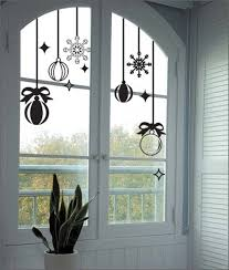 Christmas Window Silhouettes Decorations by