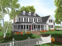 colonial style home plans 2 bedroom house plans with front porch lovely 2 story colonial style