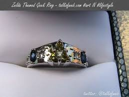 geeky wedding rings 17 amazing wedding rings to inspire the