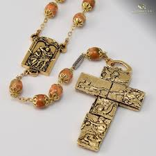 rosary from the vatican vatican museums gold plated rosary ghirelli rosaries