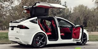 this bentley is bonkers beautiful a custom tesla model x with a bentley u0027s interior goes on sale for