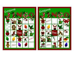 printable christmas bingo cards pictures printable christmas bingo cards for large groups christmas