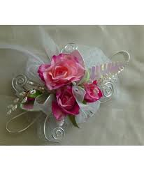 pink corsages for prom pink corsage prom flowers with white roses pasadena