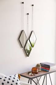 urban trends home decor geo hanging mirror set from urban outfitters decoist u2026 pinteres u2026