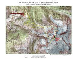 Mount Washington Trail Map by Mount Shuksan Climbing Hiking U0026 Mountaineering Summitpost