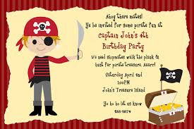 pirate party invitation template cimvitation