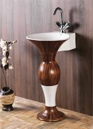 this is dolphin pedestal wash basin from sonet india for more