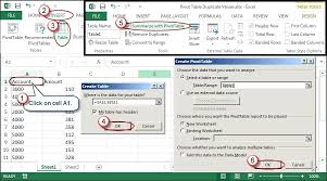 Change Pivot Table Data Range Creating Pivot Tables In Excel Excel And Earlier Choose Data List