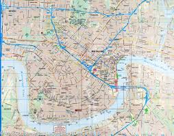Map New Orleans by City Map Of New Orleans Louisiana Borch Map Maps Company