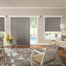 Shade Ideas For Patios Adorable Roman Shades For Patio Doors And Wonderful Roman Shades