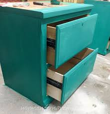 How To Paint A Filing Cabinet 2 File Cabinets Barn Door U003d Office Desk Hometalk