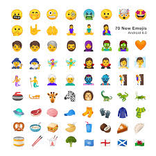 new android emojis android 8 0 emoji changelog