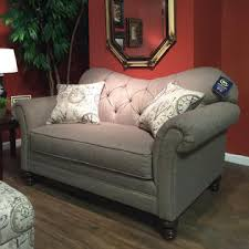 furnituremaxx metropolitan dark beige fabric upholstery wood frame