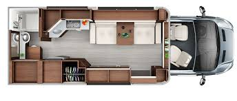 Open Range Travel Trailer Floor Plans by Wonder Class C Rv Leisure Travel Vans