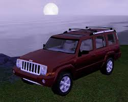 jeep purple fresh prince creations sims 3 2008 jeep commander