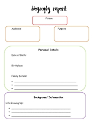 biography graphic organizer worksheets free biography graphic organizer by creative classroom lessons tpt
