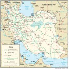 Iran On World Map Iran Virtual Jewish History Tour