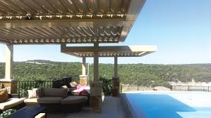 Louvered Roof Pergola by Louvered Pergola Covers Shade And Shutter Systems Inc New