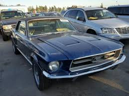 1967 blue mustang 1967 blue ford mustang kars4kids garage