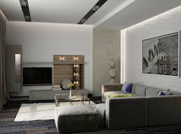 indoor simple family room interior design with its clean lines