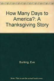 how many days to america a thanksgiving story books search