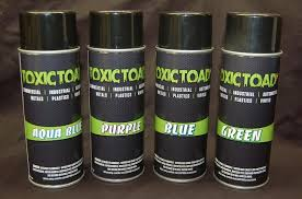 Glow In The Dark Spray Paint Colors - toxic toad automotive glow in the dark paint additive make any