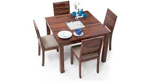 4 Seater Dining Table And Chairs Brighton Square Oribi 4 Seater Dining Table Set Ladder