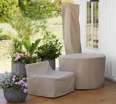 Rectangular Patio Furniture Covers Chatham Custom Fit Outdoor Furniture Covers Pottery Barn