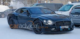 bentley continental gt3 r racecar bentley continental gt spied during cold weather testing