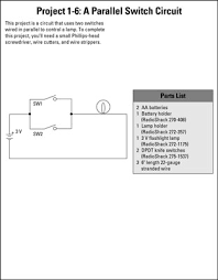 electronics projects how to build series and parallel switched