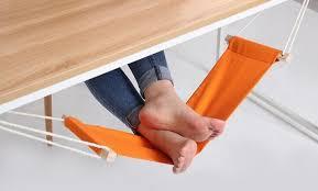 pose pied bureau portable mini repose pied support bureau pieds hamac facile à
