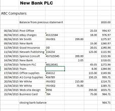 Free Bank Statement Template Excel Free Excel Book Exle For Business