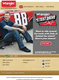 Wrangler Real Comfortable Jeans Wrangler Want To Take A Test Drive With Dale Earnhardt Jr Milled