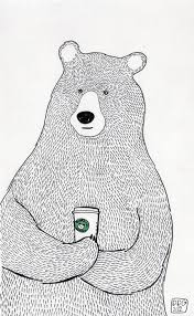 25 beautiful bear drawing ideas on pinterest bear illustration