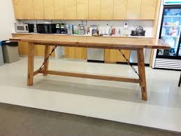 Bar Height Conference Table Custom Bar Height Harvest Table By Custom Made Furniture