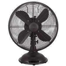 Small Oscillating Desk Fan Personal Fans Portable Fans The Home Depot