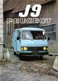 peugeot cars 1980 1980 peugeot j9 histoire des transports pinterest peugeot